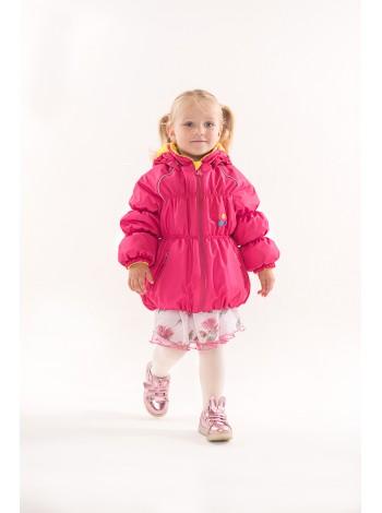 Куртка демисезонная цвет: Малиновый