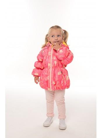 Куртка весна/осень цвет: Принт розов. бабочк.