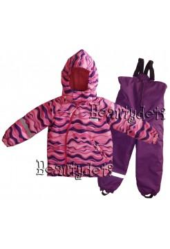 Костюм демисезонный мембранный цвет: Розовая волна