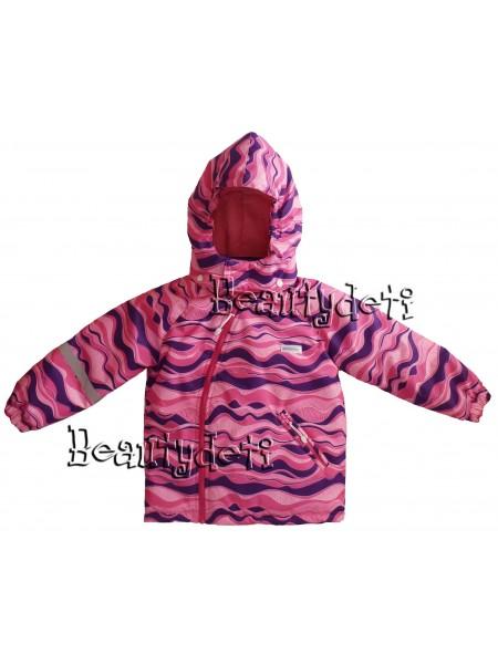 Куртка демисезонная мембранная цвет: Розовая волна