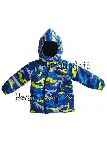 Куртка демисезонная мембранная цвет: Камуфляж