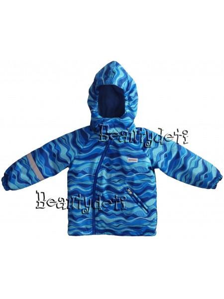 Куртка демисезонная мембранная цвет: Голубая волна