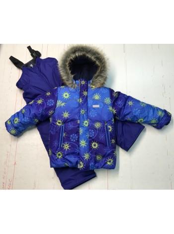 Костюм зимний цвет: Синяя снежинка