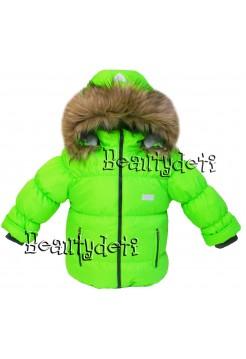 Куртка зимняя цвет: Зеленый яркий