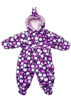 Комбинезон-трансформер осень-зима-весна цвет: Фиолет лайк