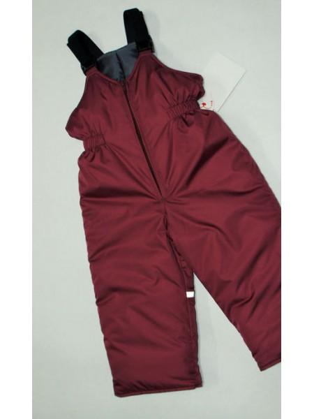 Полукомбинезон зимний цвет: Бордовый