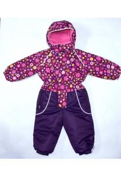Комбинезон зимний цвет: Фиолетовый цветок