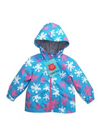 Куртка-ветровка цвет: Кляксы розовый