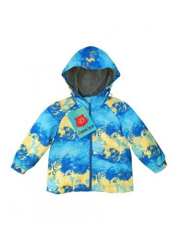 Куртка-ветровка цвет: Ультрамарин желтый