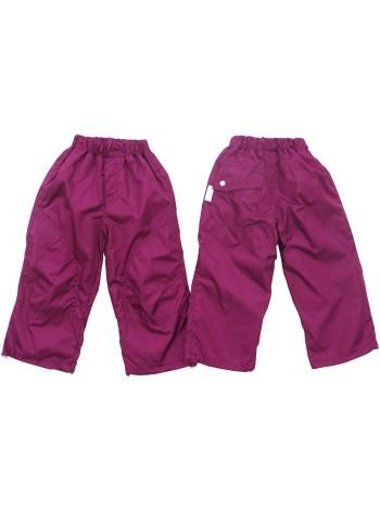 Брюки ветровочные, цвет: пурпурный