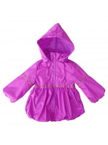 Ветровка, цвет: сиренево-розовый
