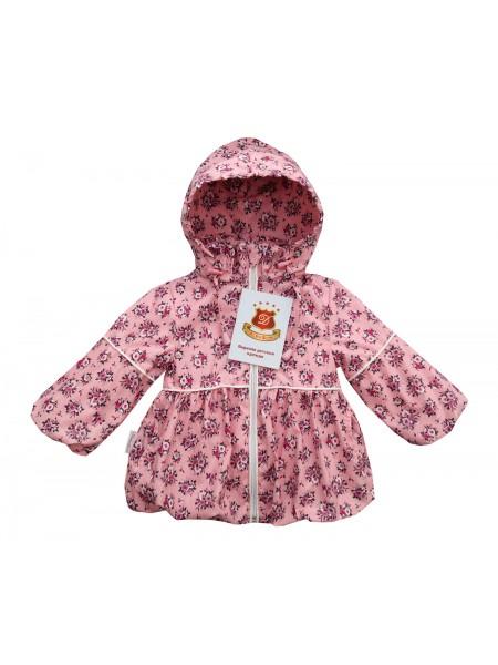 Ветровка цвет: Принт розочки розовый