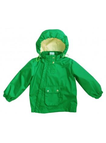 Ветровка, цвет: зеленый