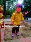 Ветровка, цвет: желтый