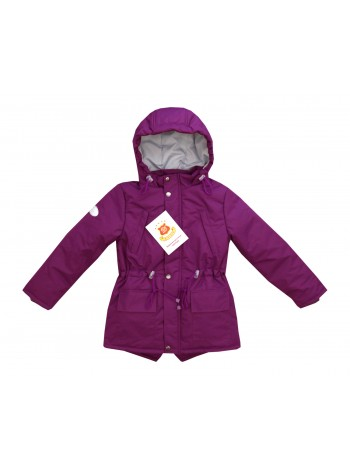 Куртка-парка цвет: Баклажан