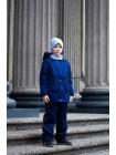 Куртка-парка весна/осень цвет: Т.синий