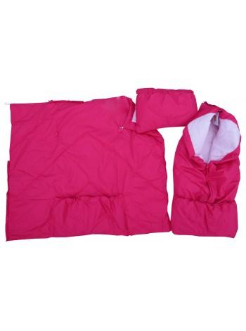 Конверт-одеяло, цвет: малина