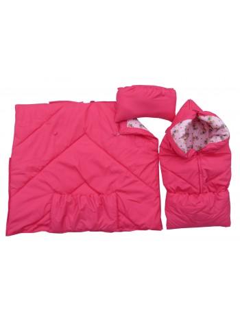 Конверт-одеяло, цвет: розовый