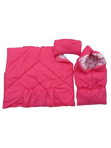 Конверт-одеяло цвет: Розовый