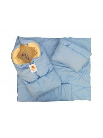 Конверт-одеяло цвет: Неб.голубой