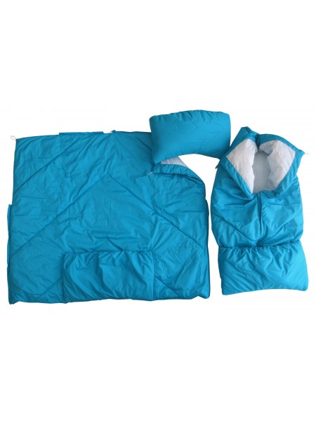 Конверт-одеяло цвет: Т.бирюза