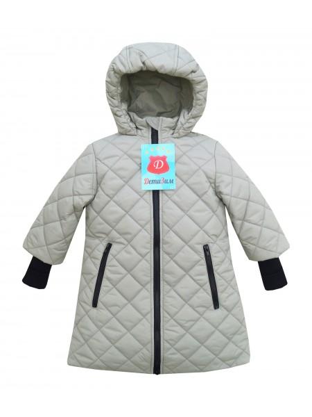 Пальто демисезонное цвет: Св. серый