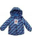 Куртка демисезонная цвет: Клетка т. синяя