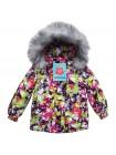 Куртка зимняя мембранная цвет: Треугольник розовый