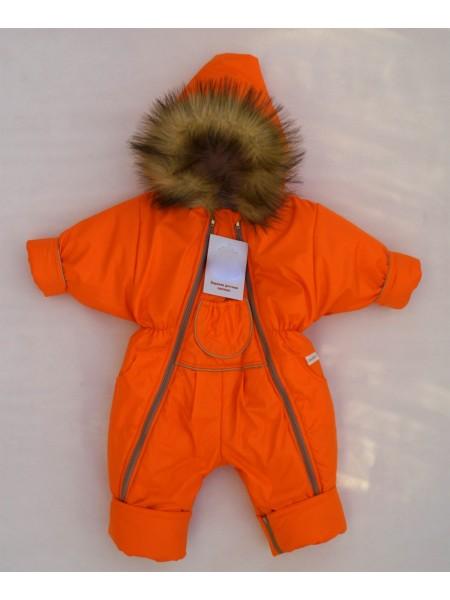 Комбинезон-трансформер зимний цвет: Оранжевый кант зол.песок