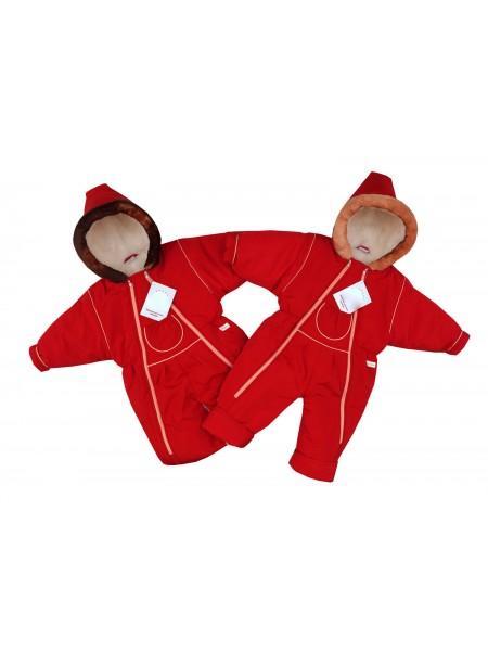 Комбинезон-трансформер зимний цвет: Красный