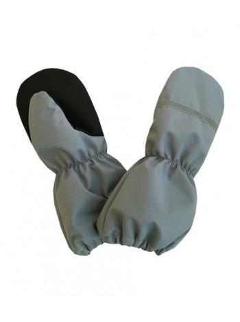 Краги (детские варежки) цвет: Серый