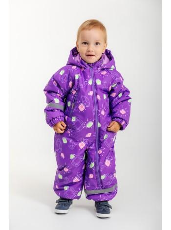 Комбинезон зимний мембранный цвет: кристалл фиолетовый