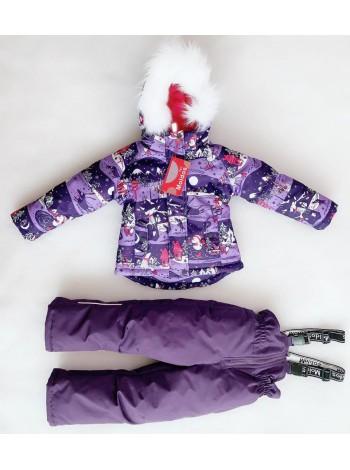 Костюм зимний мембранный цвет: Зима фиолет