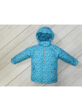 Куртка демисезонная цвет: бирюза