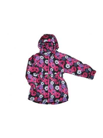 Куртка демисезонная цвет: принт цветы