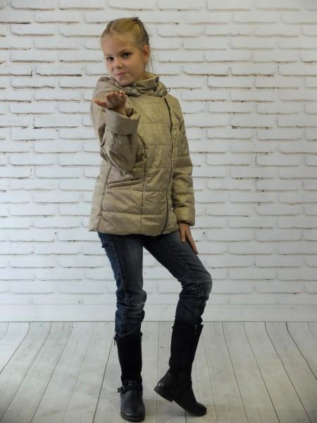 Куртка косуха цвет: Золотистый
