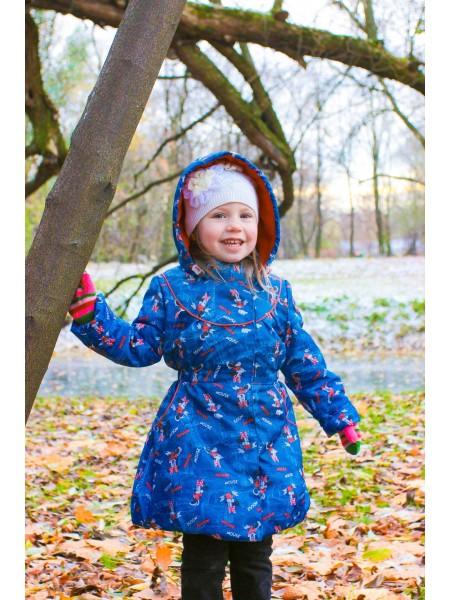 Пальто демисезонное мембранное цвет: Микки маусы
