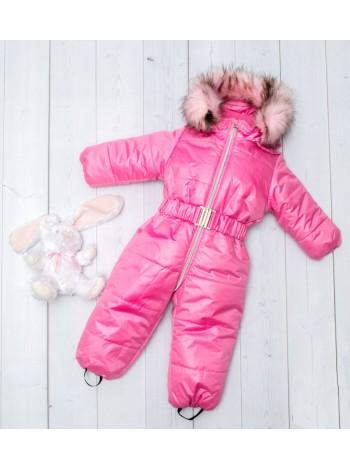 Комбинезон зимний цвет: розовый
