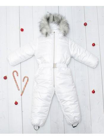 Комбинезон зимний цвет: белый