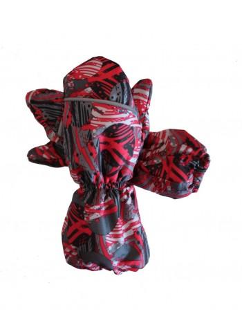 Краги зимние цвет: Шары красные