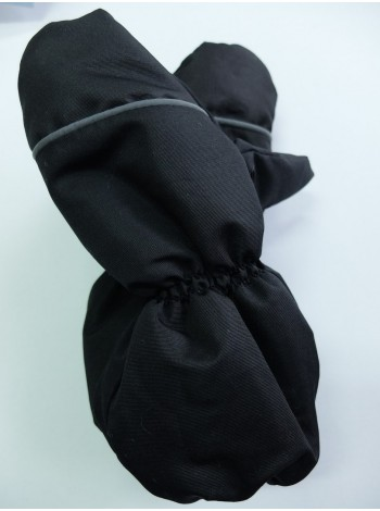 Краги зимние мембранные цвет: Черный