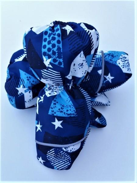 Краги зимние мембранные цвет: Синие звезды