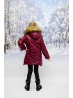 Пальто зимние цвет: Бордо