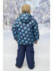 Костюм зимний мембранный цвет: Голубые кристаллы синий