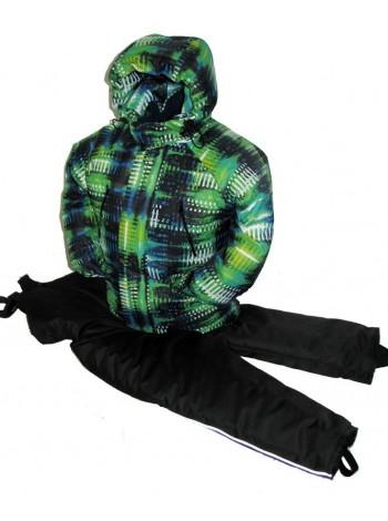 Костюм зимний мембранный цвет: неон зеленый
