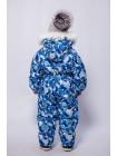 Комбинезон зимний мембранный цвет: Синие шары