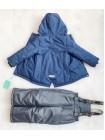 Костюм демисезонный мембранный цвет: Синий спорт
