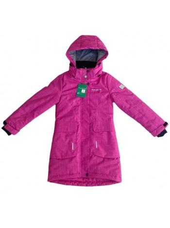 Пальто демисезонное мембранное цвет Ярко-розовый
