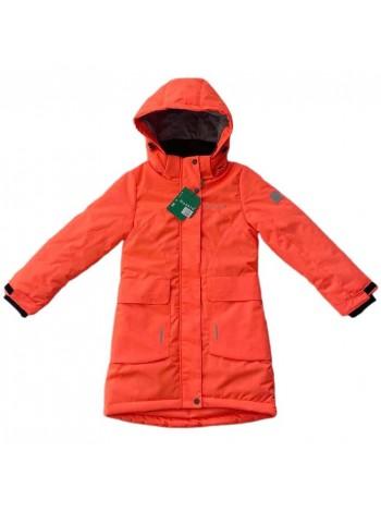 Пальто демисезонное мембранное цвет Оранжевый