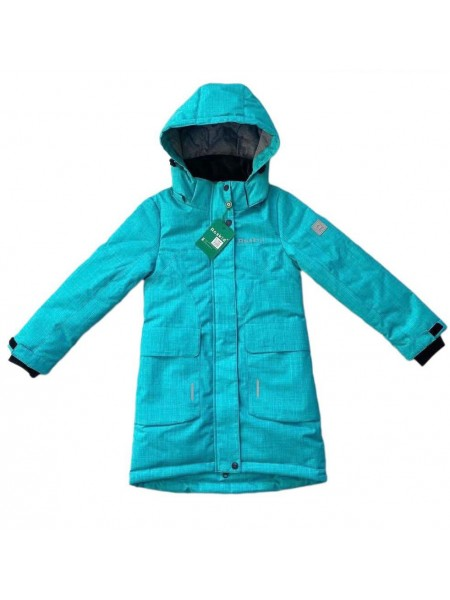 Пальто демисезонное мембранное цвет: Ментол
